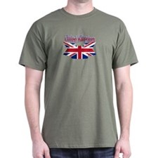 UK flag ribbon T-Shirt