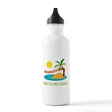 Retired wrestling coac Water Bottle