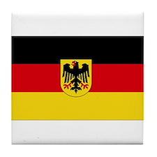 German COA flag Tile Coaster