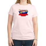 Liechtenstein flag ribbon T-Shirt