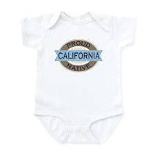 Proud California native Infant Bodysuit