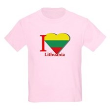 I love Lithuania T-Shirt
