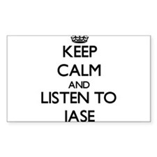 Keep Calm and Listen to Jase Decal