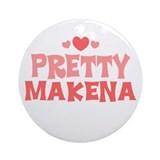 Makena Ornament (Round)