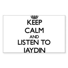 Keep Calm and Listen to Jaydin Decal