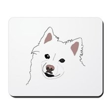 Colorful Eskie Mousepad