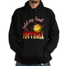 Sold My Soul to Softball Hoodie