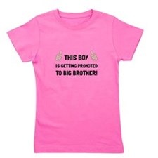 Promoted To Big Brother Girl's Tee