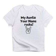 My Auntie Rocks (Custom) Infant T-Shirt