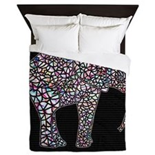 Elephant, Queen Duvet