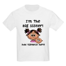 Big Sister 2 (brunette) - Customize! T-Shirt