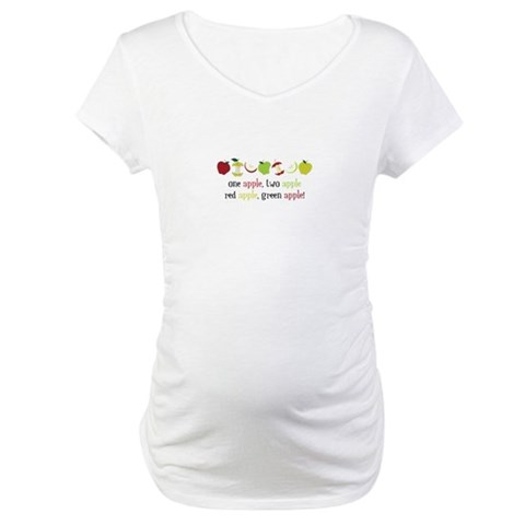 One Apple Maternity T-Shirt