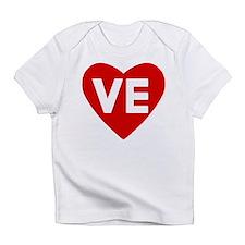 Ve (love) Heart Infant T-Shirt