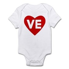 Ve (love) Heart Infant Body Suit