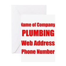 Plumbing Greeting Cards