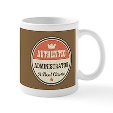 Vintage Administrator Design Gift Mugs