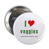 "Vegetable Rights 2.25"" Button (100 pack)"