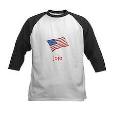 Old Glory Personalized July 4 Pop Baseball Jersey