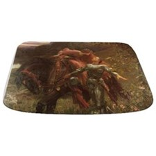 La belle dame sans merci: illustration Bathmat