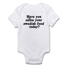 swedish food today Infant Bodysuit