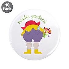 "Master Gardener 3.5"" Button (10 pack)"