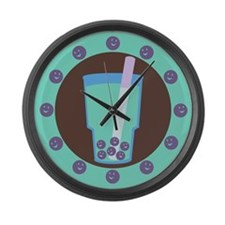 bubble-tea_cl.png Large Wall Clock
