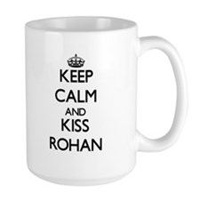 Keep Calm and Kiss Rohan Mugs