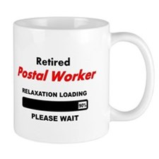 LOADING RET POSTAL WORKER Mugs