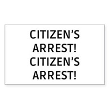 Citizen's Arrest Decal