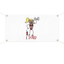 I Pump Banner