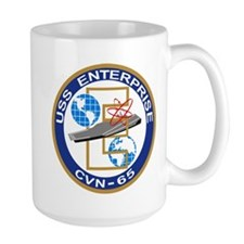 USS Enterprise CVN-65 Mugs