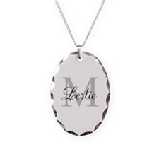 Monogram Name and Initial Necklace
