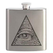 Eye of Providence Flask