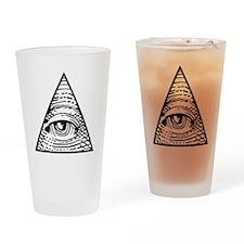 Eye of Providence Drinking Glass