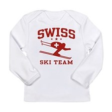 Cute Switzerland pride Long Sleeve Infant T-Shirt