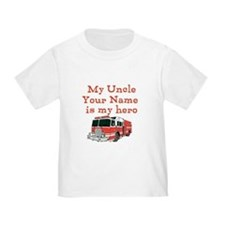 My Uncle Is My Hero (Custom) T-Shirt