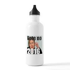 Vote no on ms Clinton Water Bottle
