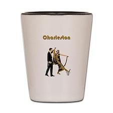 Charleston Flapper Shot Glass