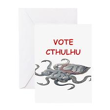 cthulhu Greeting Cards
