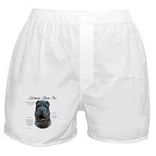 Blue Chinese Shar-Pei Boxer Shorts