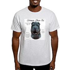 Blue Chinese Shar-Pei T-Shirt
