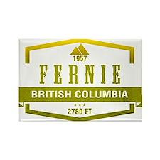 Fernie Ski Resort British Columbia Magnets
