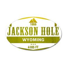 Jackson Hole Ski Resort Wyoming Wall Decal