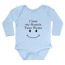 I Love My Auntie (Custom) Body Suit