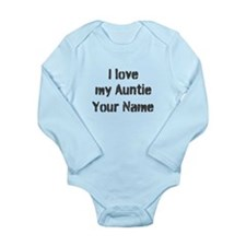 I Love My Auntie (Custom) Body Suit