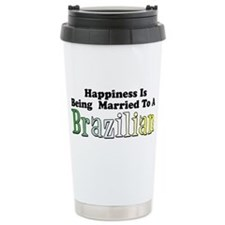 Cute Brazil Travel Mug