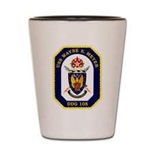 USS Meyer DDG 108 Shot Glass