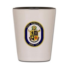 USS Spruance DDG 111 Shot Glass