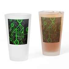 Funny La tech Drinking Glass