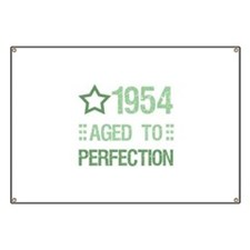 1954 Aged To Perfection Banner